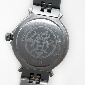 Hermes Accessories - Hermès Clipper Driver Watch 18k Gold Accents
